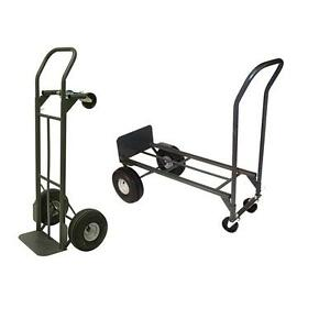Milwaukee 800lbs Capacity Convertible Hand Truck Rolling Cart Heavy Duty Usa