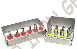 Dental Implant Tissue Punch trephine Drills 2 Kit 13pcs Set Surgical Surgery
