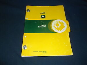 John Deere 1020 Tractor Parts Manual Book Pc 970