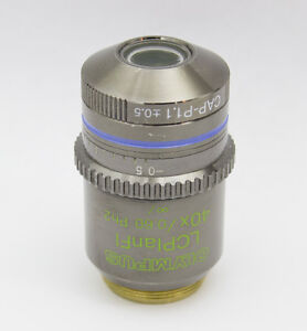 Olympus Lcplanfl 40x 0 60 Ph2 Phase Contrast Microscope Objective Ax Bx Ix
