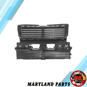 For 2013 2016 Ford Fusion Front Radiator Shutter W O Actuator Motor