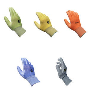 Touch Green Water based Polyurea Coated Glove Polyester Water based Polyurea