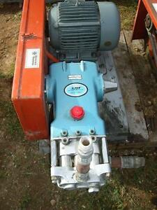 Cat Pump power Unit M 2527 With Siemens 10 Hp Motor w2