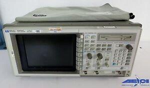 Hp 54522c 2 Channel 2 Gsa s Color Digitizing Oscilloscope