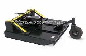 72 Ammbusher Brush Cutter Attachment Skid Steer Loader Rotary Mower Tree Bobcat