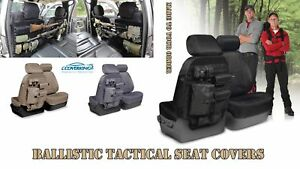 Coverking Cordura Ballistic Tactical Custom Seat Covers For Honda Pilot