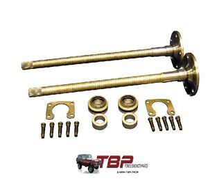 1966 1975 Early Ford Bronco 9 31 Spline Rear Axle Kit Small Bearing 10 Drum