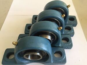 4 Pcs 1 1 4 Ucp206 20 Pillow Block Bearing