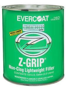Evercoat 282 Metalworks Z Grip Non Clog Lightweight Auto Body Filler Gallon