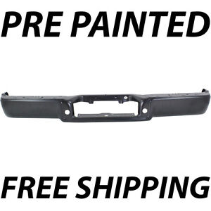 New Painted To Match Rear Steel Bumper Face Bar For 2006 2008 Ford F150 Truck