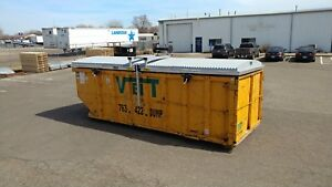 Storm top Roll Off Container Cover Removable Version model St 8000 r