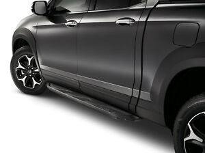 Genuine Honda Oem 2017 2019 Ridgeline Black Running Boards Set 08l33 t6z 100