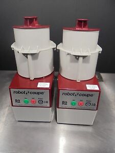 2 food Processor Robot Coupe R2c 885 100 Working Condition Free Shiping