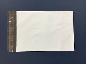 25 5 12 X 15 1 2 Poly Mailers Self Sealing Envelopes Mailing Bags Packaging