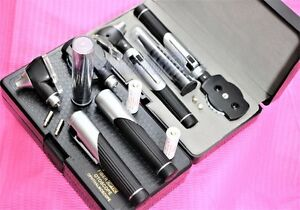 New Incredible Fiber Optic Prophysician Ophthalmoscope Otoscope Diagnostic Set
