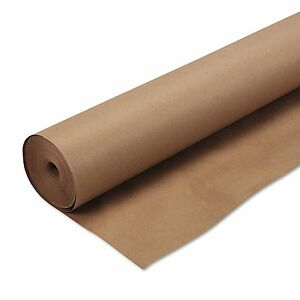 Roll Of Kraft Paper Brown Paper 30 X 850 Good For Packing Shipping Draw