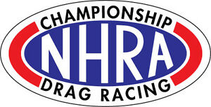 Nhra Vinyl Decal Large 20 X10 2 With Gloss Lamination