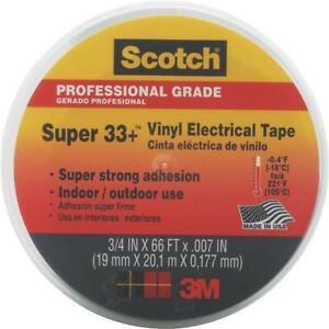 3 4 x66 Vinyl Plastic Electrical Tape box Of 10