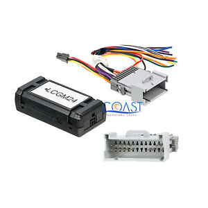 Car Audio Gm General Motor Radio Interface Harness For 2000 up Base Model Only