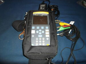 Fluke Networks 990dsl Copperpro Cable Loop Tester Wideband Tdr Rfl