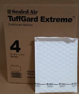 50 4 9 1 2 X 14 1 2 Jiffy Tuffgard Extreme Poly Bubble Mailers Extra Thick