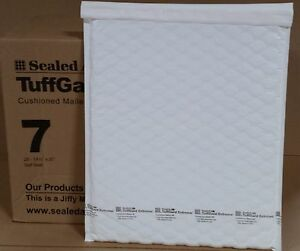 25 7 14 1 4 X 20 Jiffy Tuffgard Extreme Poly Bubble Mailers Extra Thick