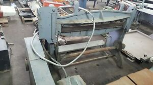 Niagara Table Shear Electric Powered Motor By Us Motors 42 Shear Blade