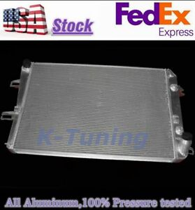 2 Row Aluminum Radiator Fit 2006 2010 Chevy gmc 6 6l Duramax Lbz lmm Cc2857