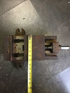 Vintage Milling Machine Vise Rotating 6 No 3