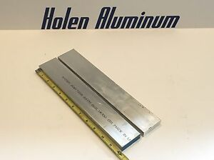 2 Pieces 5 8 X 2 X 12 Long Aluminum Flat Bar Stock 6061 t6511