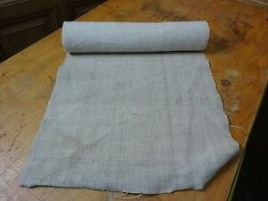 A Homespun Linen Hemp Flax Yardage 5 Yards X 18 Plain 8315