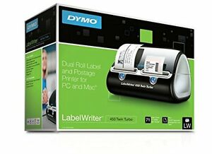 Dymo Label Writer 450 Twin Turbo Label Printer 71 Labels Per Minute New