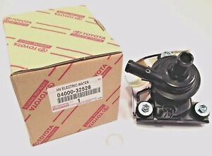 Toyota Oem Genuine Electric Inverter Water Pump Prius 04000 32528 G9020 47031