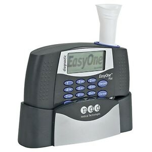 Ndd Easyone Plus Diagnostic Spirometry System 2001 2np