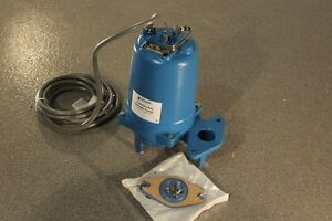 Goulds Ws0737bhf Model 3887bhf Submersible Sewage Pump 575 Volts