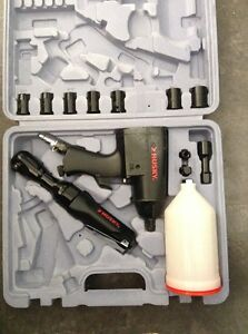 Husky Tool Set Impact Wrench Ratchet Wrench Sockets