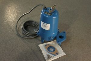 Goulds Ws2037bhf Model 38887bhf Submersible Sewage Pump 575 Volts