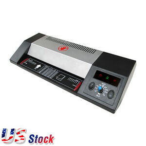 Usa Steel A3 A4 Hot Cold 13 Thermal Photo Roller Pouch Laminator Machine