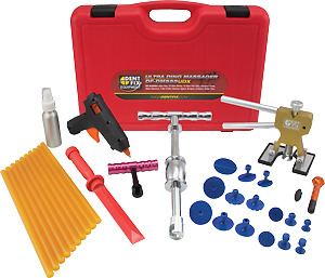 Dent Fix Ultra Ding Massager Deluxe Glue Pulling Kit Df dm555udx