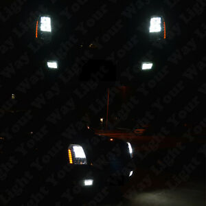 6x Xenon White Led Fog Driving Drl Light Bulbs Combo For 2007 2014 Escalade