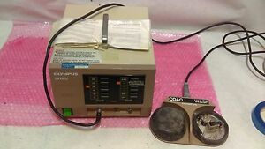 Olympus Hpu Mediacal Coagulator Electrosurgical Heat Probe System W Foot Pedal