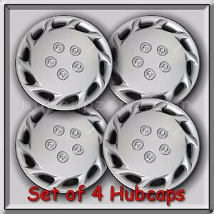 Set Of 4 14 Silver Toyota Camry Hubcaps 1998 Replica Camry Wheel Covers