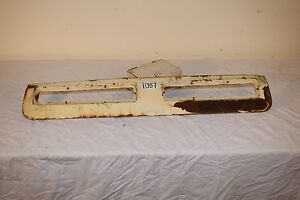 Corvair Engine Cooling Exhuast Vents Sheet Metal Late Model 1965 69