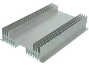10 X 7 X 2 Flanged Aluminum Heat Sink 33305 Hk