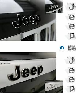 Jeep Front And Rear Emblem Overlay Decals For 2014 2018 Jeep Grand Cherokee