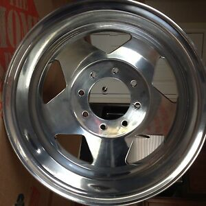 Ford Super Duty F350 Alcoa Oem 16 X 6 Alloy Wheel Dually Rims 99 04 Powdercoat