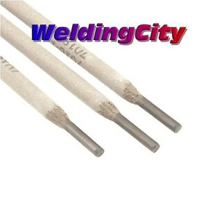 Weldingcity 10 lb E7018 3 32 Stick Welding Electrode Mild Steel Rod Free Gloves