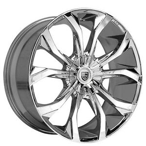4rims 17 Lexani Wheels Lust Chrome Rims