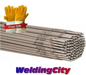 5 lb E309l 16 1 8 Stainless Steel Stick Welding Electrode Rod With Free Gloves