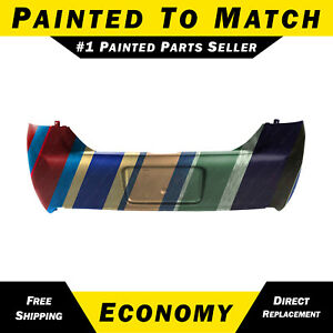 New Painted To Match Rear Bumper Cover For 2009 2010 2011 Ford Focus Sedan Ses